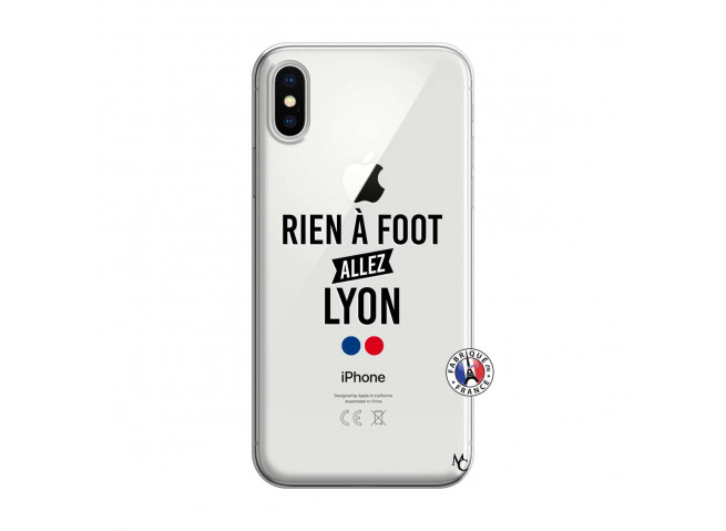 Coque iPhone X/XS Rien A Foot Allez Lyon
