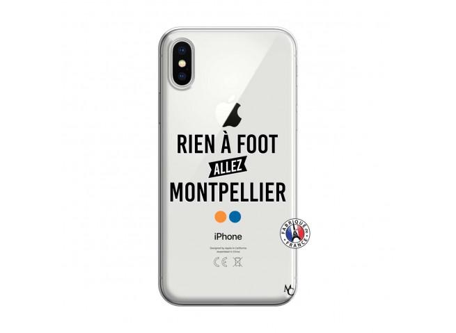 Coque iPhone X/XS Rien A Foot Allez Montpellier