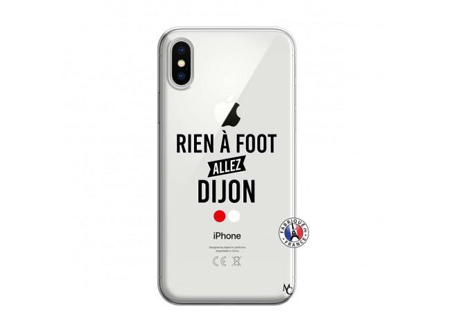 Coque iPhone X/XS Rien A Foot Allez Dijon