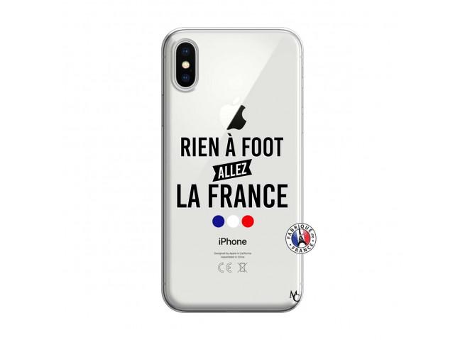 Coque iPhone X/XS Rien A Foot Allez La France