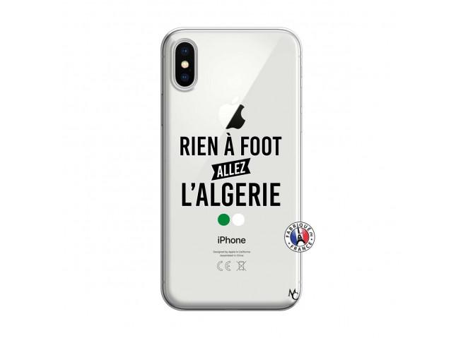 Coque iPhone X/XS Rien A Foot Allez L Algerie