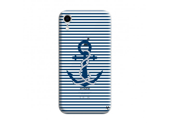 Coque iPhone XR Ancre