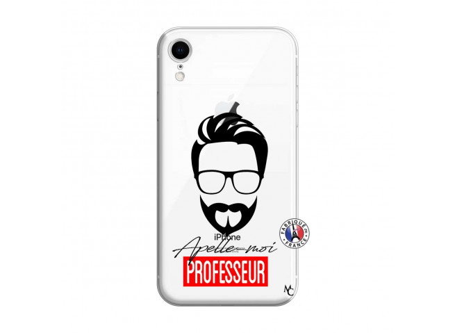 Coque iPhone XR Apelle Moi Professeur