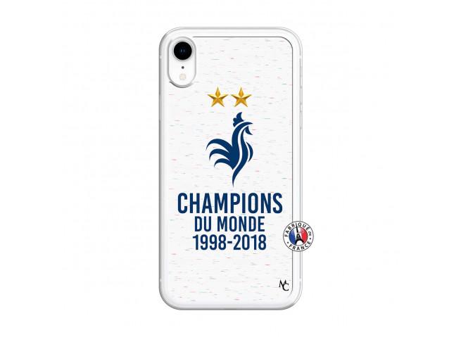Coque iPhone XR Champion Du Monde Translu
