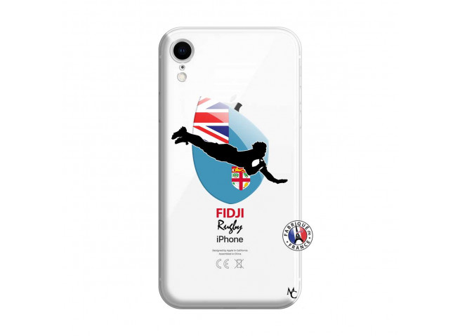 Coque iPhone XR Coupe du Monde Rugby Fidji