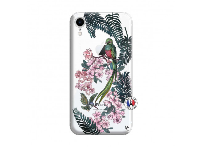 Coque iPhone XR Flower Birds