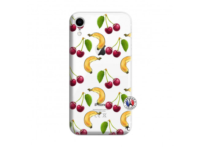 Coque iPhone XR Hey Cherry, j'ai la Banane