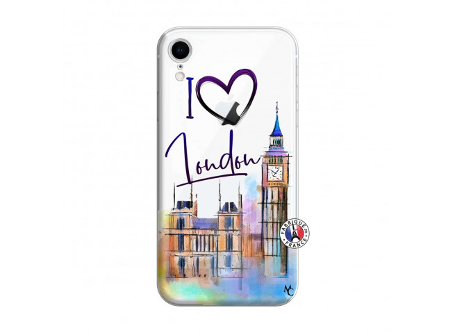 Coque iPhone XR I Love London