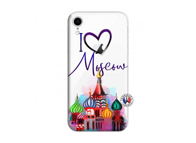 Coque iPhone XR I Love Moscow