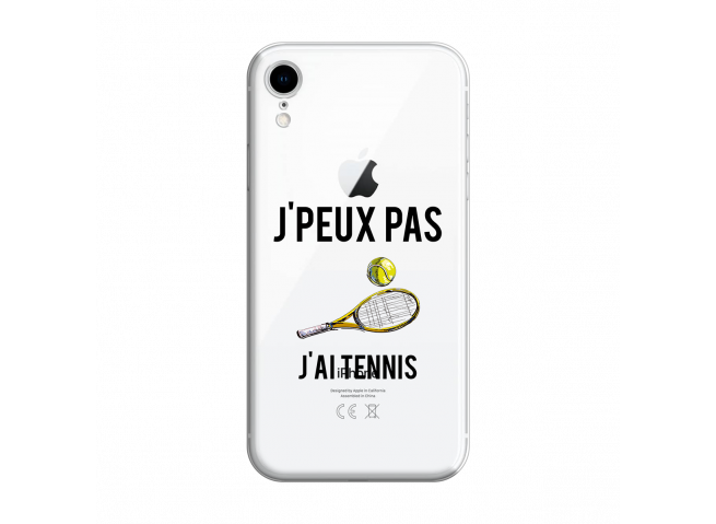 Coque iPhone XR J Ai Tennis