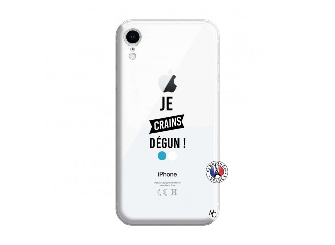Coque iPhone XR Je Crains Degun
