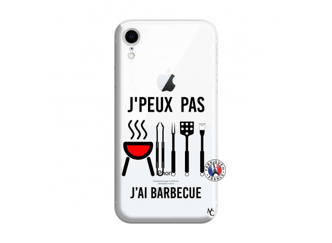 Coque iPhone XR Je Peux Pas J Ai Barbecue