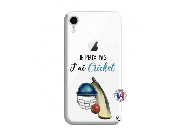 Coque iPhone XR Je peux pas j'ai cricket