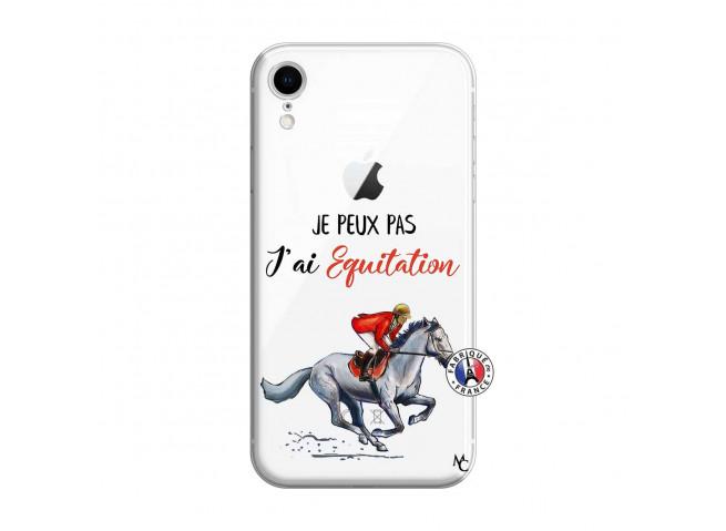 Coque iPhone XR Je Peux Pas J Ai Equitation
