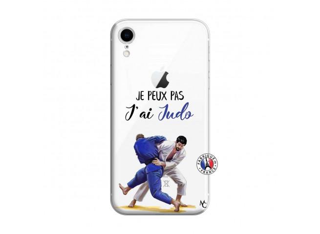 Coque iPhone XR Je peux pas j'ai Judo