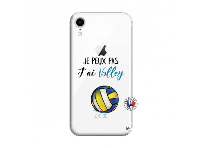 Coque iPhone XR Je Peux Pas J Ai Volley