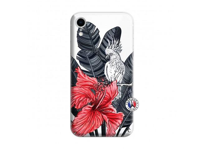 Coque iPhone XR Papagal
