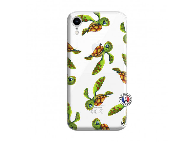 Coque iPhone XR Tortue Géniale
