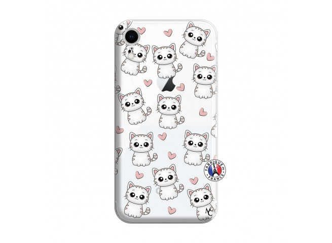 Coque iPhone XR Petits Chats
