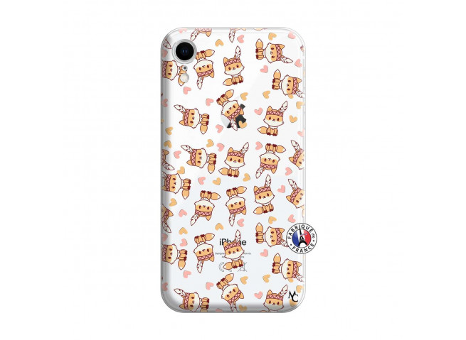 Coque iPhone XR Petits Renards