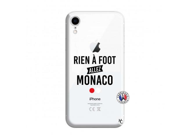 Coque iPhone XR Rien A Foot Allez Monaco