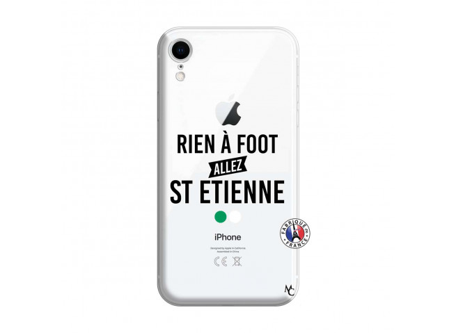 Coque iPhone XR Rien A Foot Allez St Etienne