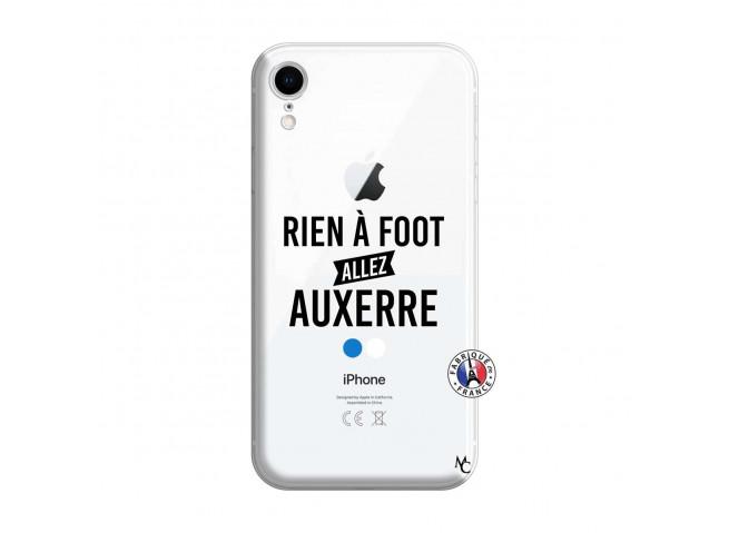 Coque iPhone XR Rien A Foot Allez Auxerre
