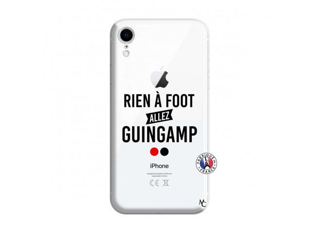 Coque iPhone XR Rien A Foot Allez Guingamp