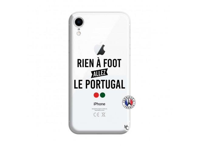 Coque iPhone XR Rien A Foot Allez Le Portugal