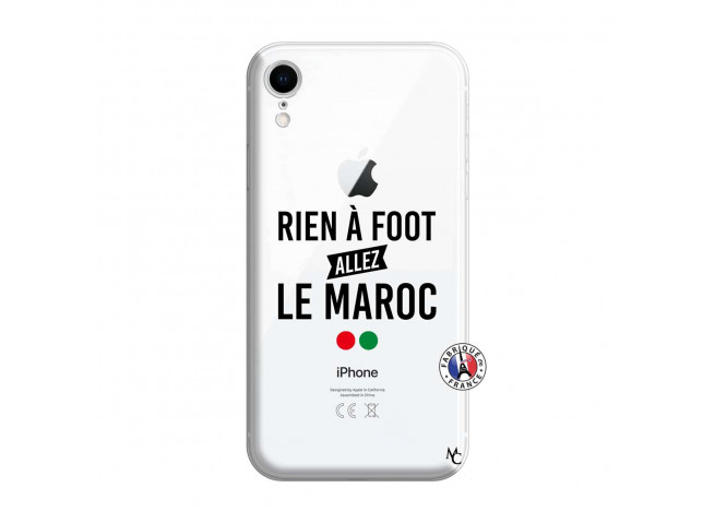 Coque iPhone XR Rien A Foot Allez Le Maroc