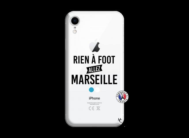 Coque iPhone XR Rien A Foot Allez Marseille