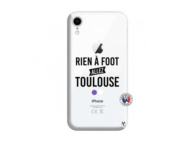 Coque iPhone XR Rien A Foot Allez Toulouse