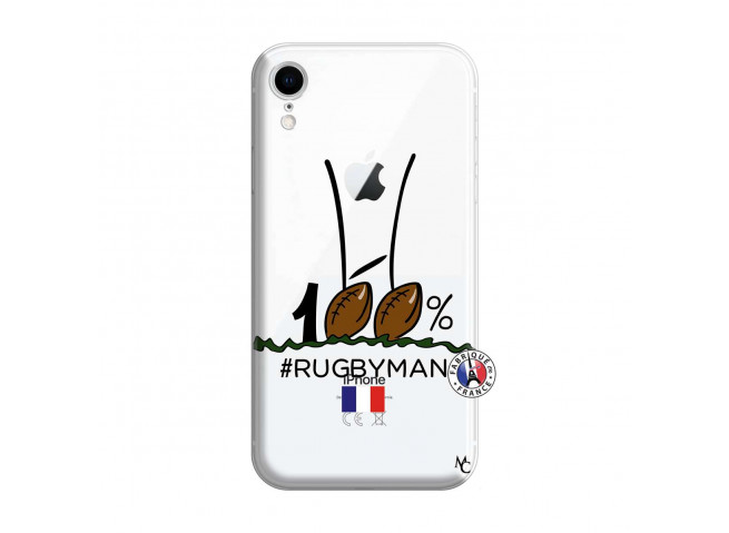 Coque iPhone XR 100 % Rugbyman Entre les Poteaux