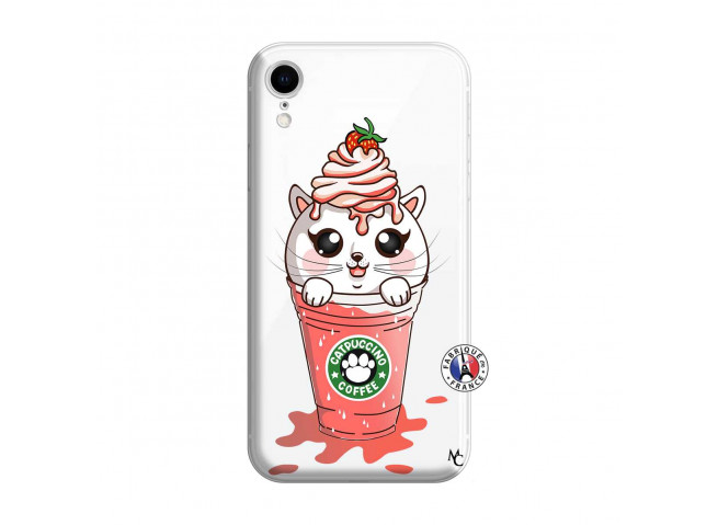 Coque iPhone XR Catpucino Ice Cream