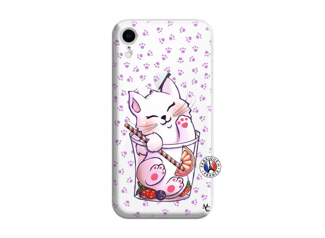 Coque iPhone XR Smoothie Cat