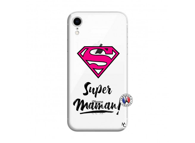 Coque iPhone XR Super Maman