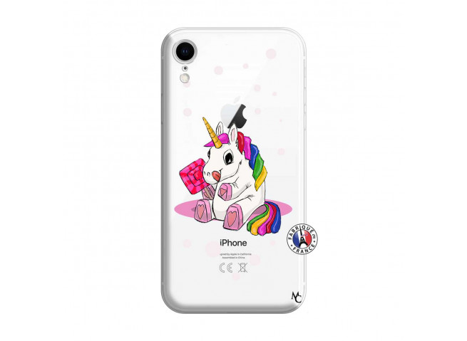 Coque iPhone XR Sweet Baby Licorne
