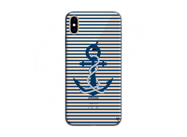 Coque iPhone XS MAX Ancre