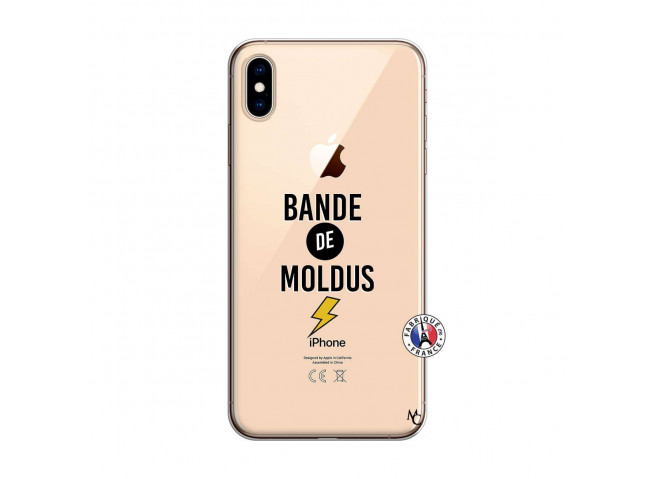 Coque iPhone XS MAX Bandes De Moldus