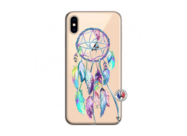 Coque iPhone XS MAX Blue Painted Dreamcatcher