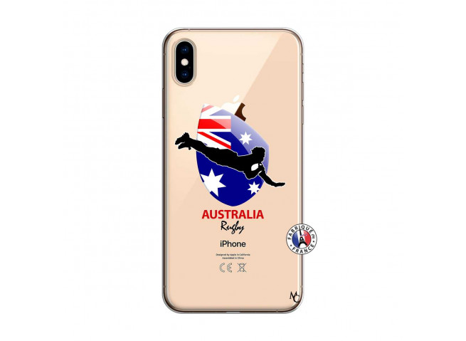 Coque iPhone XS MAX Coupe du Monde Rugby-Australia