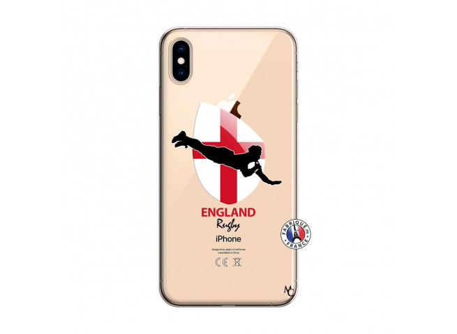 Coque iPhone XS MAX Coupe du Monde Rugby-England