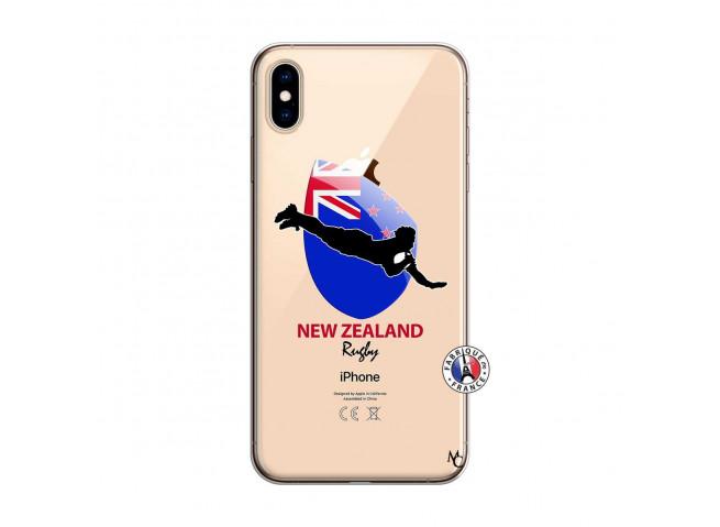 Coque iPhone XS MAX Coupe du Monde Rugby- Nouvelle Zélande