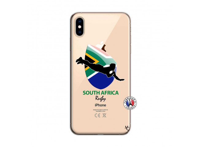 Coque iPhone XS MAX Coupe du Monde Rugby-South Africa