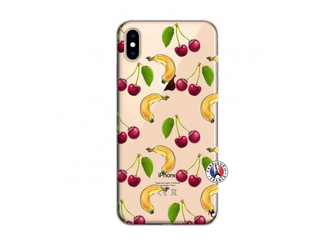 Coque iPhone XS MAX Hey Cherry, j'ai la Banane
