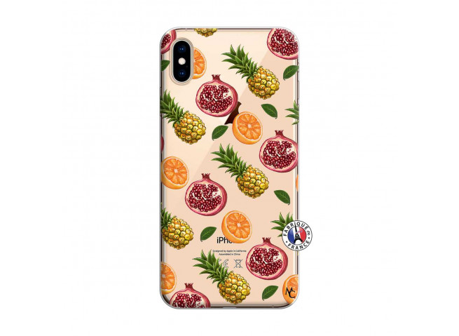Coque iPhone XS MAX Fruits de la Passion