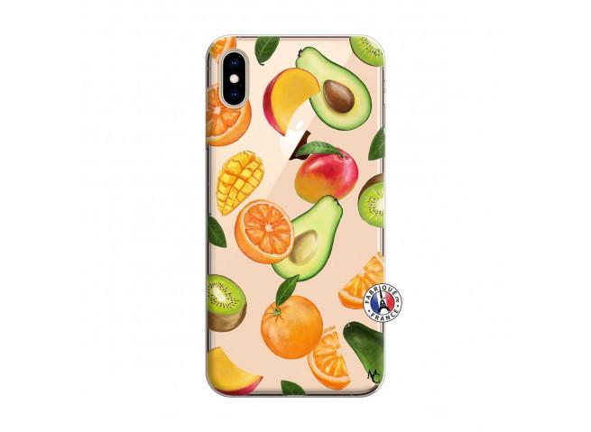 Coque iPhone XS MAX Salade de Fruits