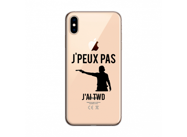 Coque iPhone XS MAX Jai Twd