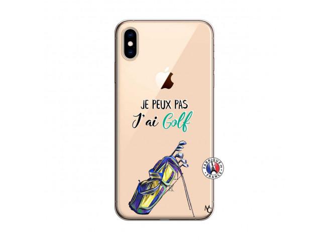 Coque iPhone XS MAX Je Peux Pas J Ai Golf
