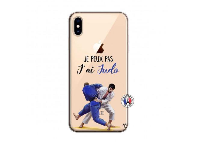 Coque iPhone XS MAX Je peux pas j'ai Judo